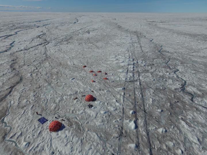 Algal bloom on Greenland credit Jim McQuaid.