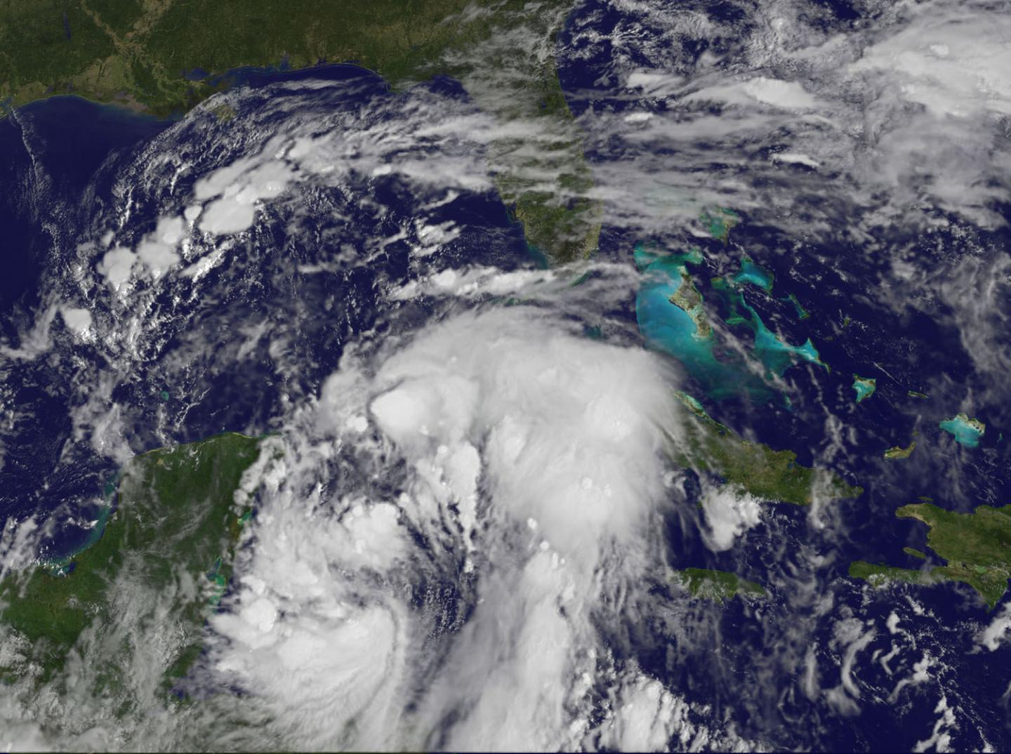 GOES-East image of Nate