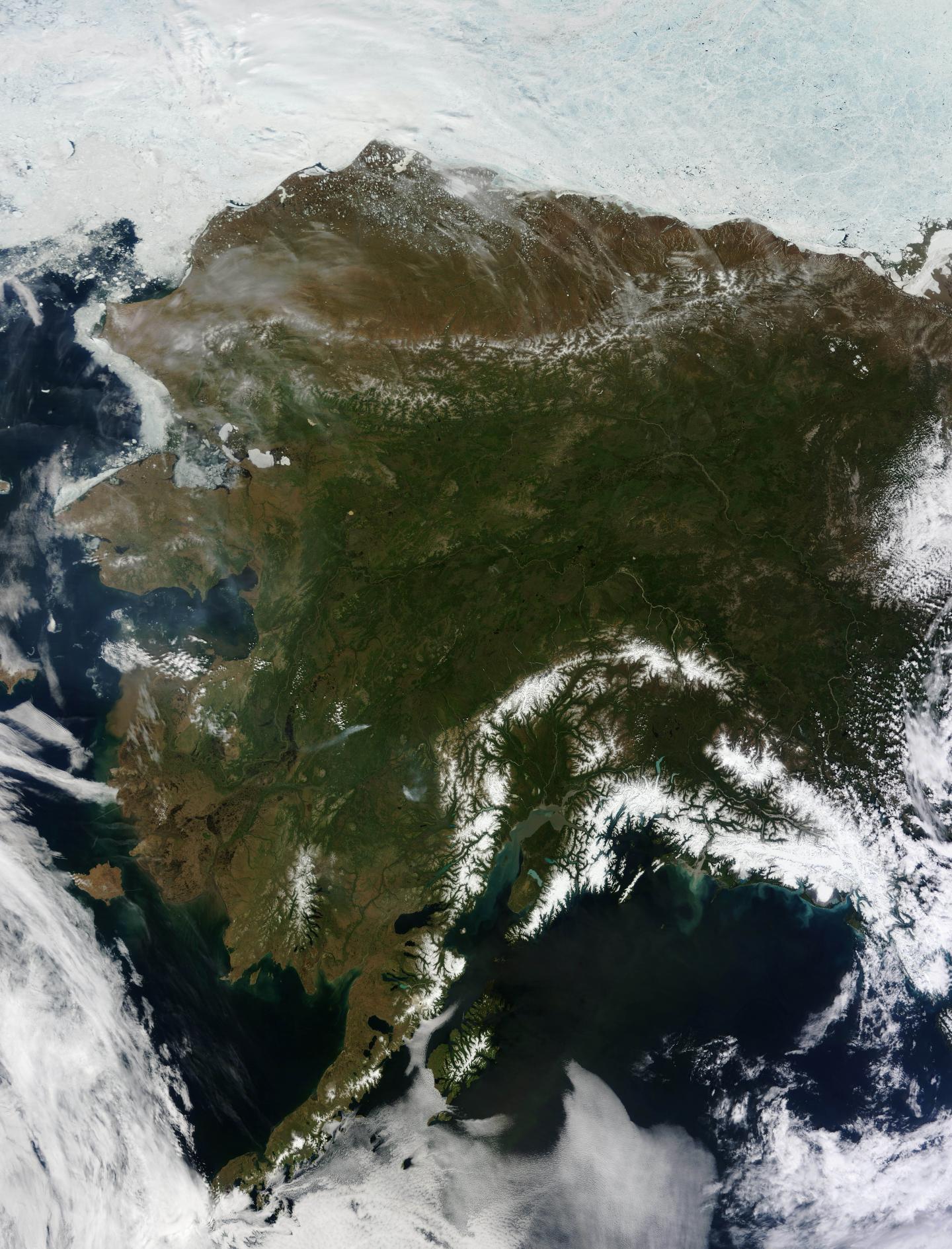 Alaska from Orbit