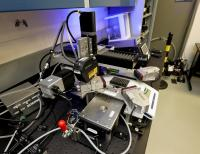 Prototype of Automated Measurement Station, ORNL Laboratory