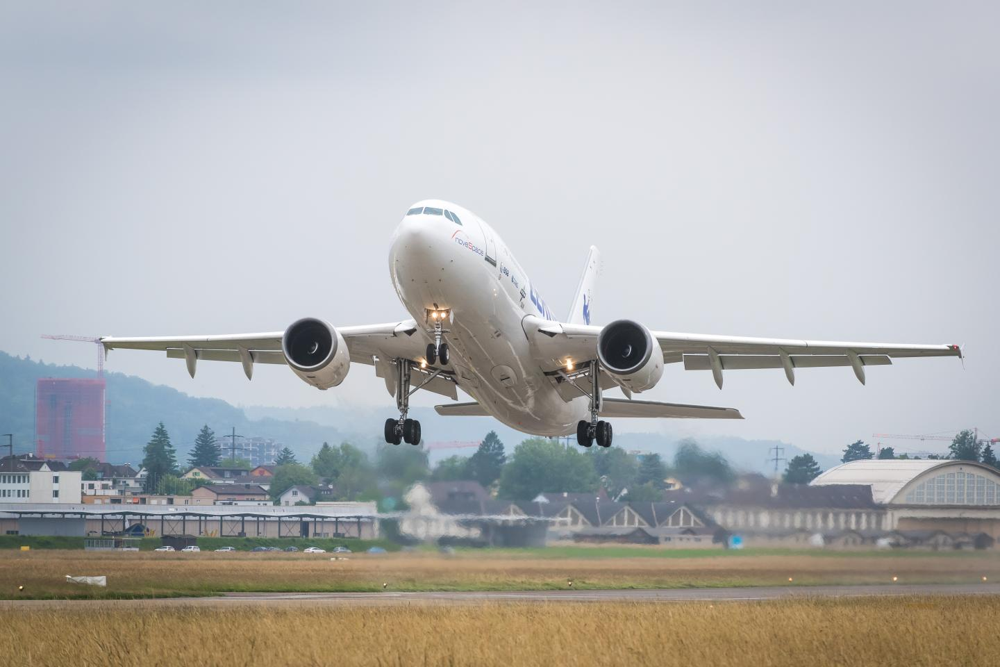 The Fourth Parabolic Flight Takes off Today from Dübendorf Airfield