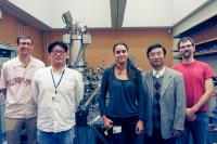 Researchers from the Energy Materials and Surface Sciences Unit