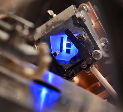 LED in a Vacuum Chamber