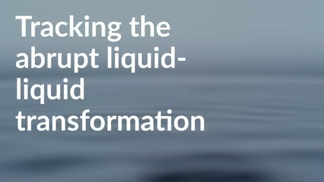 Tracking the Abrupt Liquid-Liquid Transition