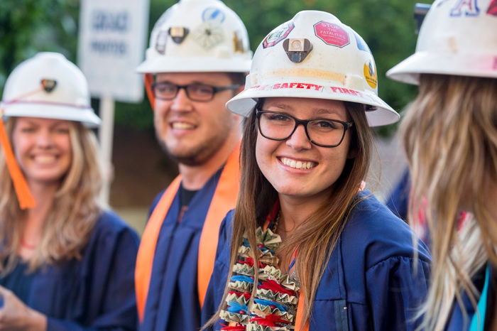 Students will prepare for the workforce in the University of Arizona School of Mining and Mineral Resources.