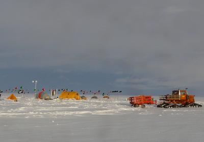 Drilling Site on Ross Ice Shelf to Record Temps of Ice Pack and Ocean