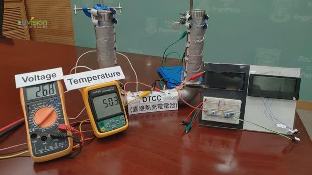 Waste Heat Conversion into Electricity