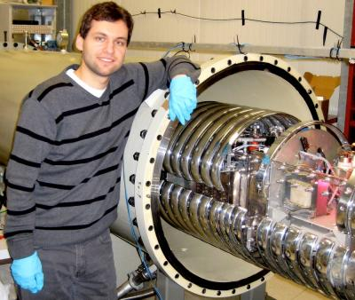Michael Anders at the LUNA Accelerator