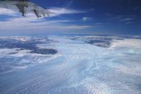 Icebergs Discharching from Jakobshavn