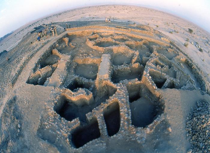 Excavations -Tel Tifdan/ Wadi Fidan.