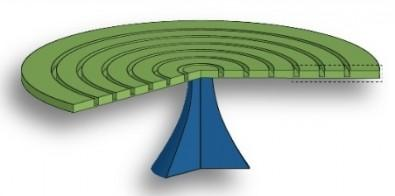 Device Boosts Interaction between Light and Motion