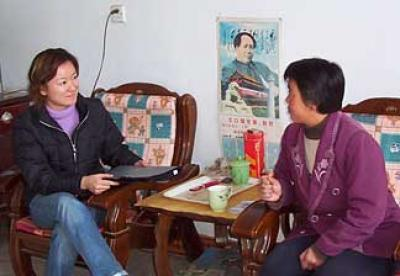 Interview in China