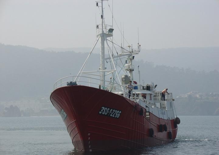 Industrial Fishing Vessel