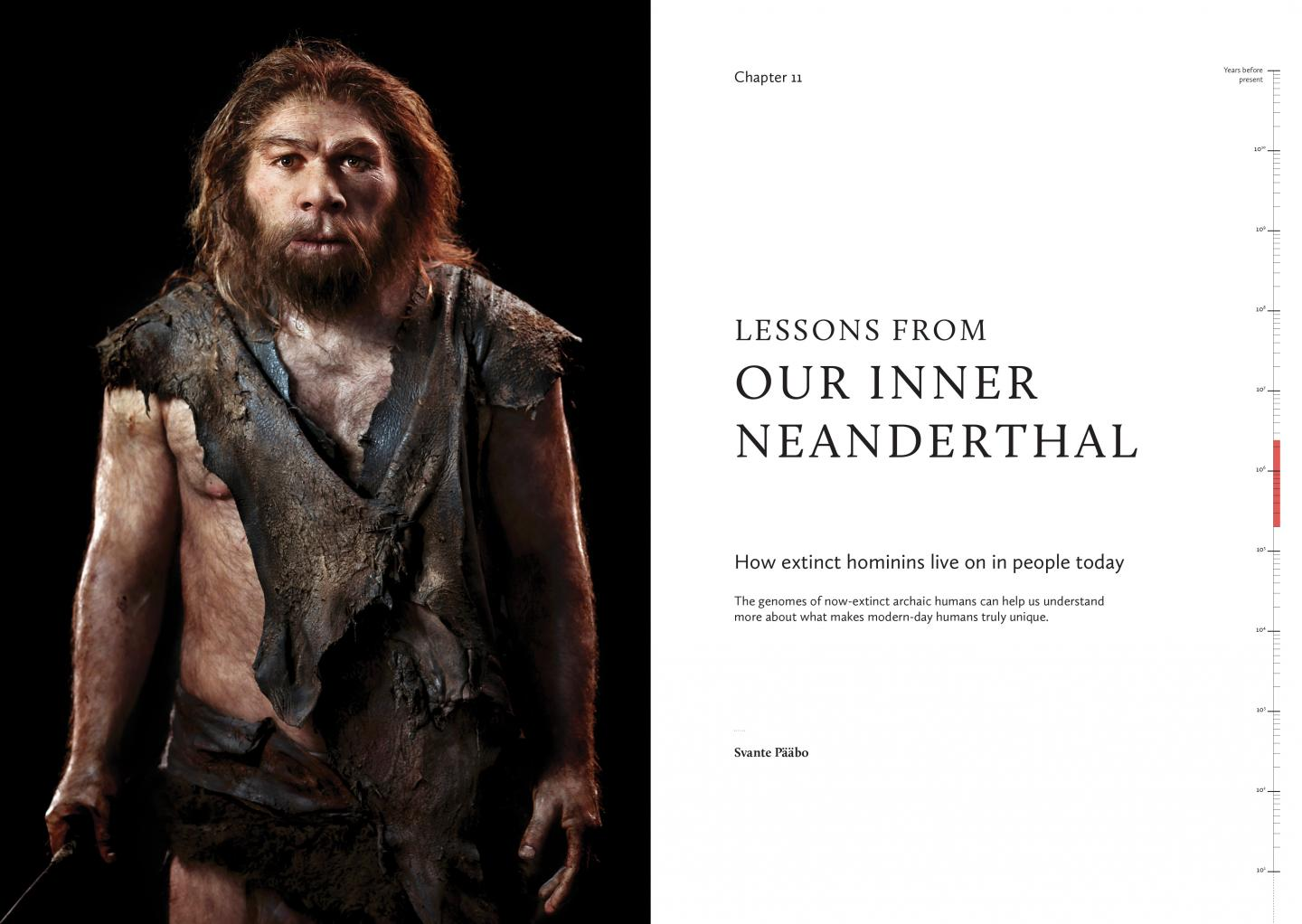 Sydney Brenner's 10-on-10: The Chronicles of Evolution Sample Page on Neanderthals