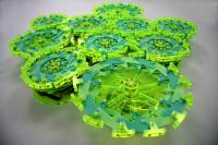 Group of Robotic Particles