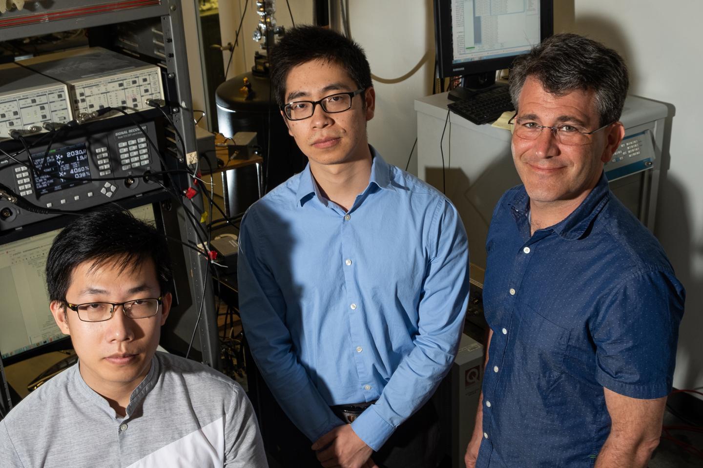 Rice U physicists Natelson Zhou Chen