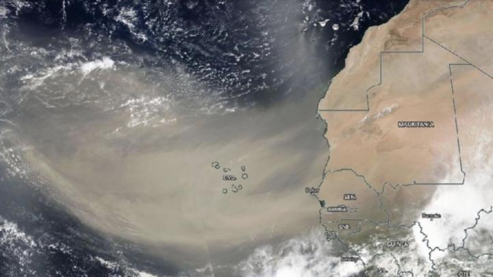 A history of African dust