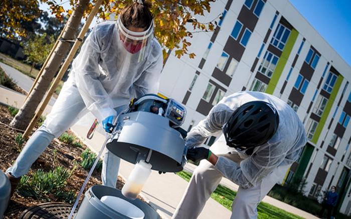 Wastewater Detection, University of California San Diego