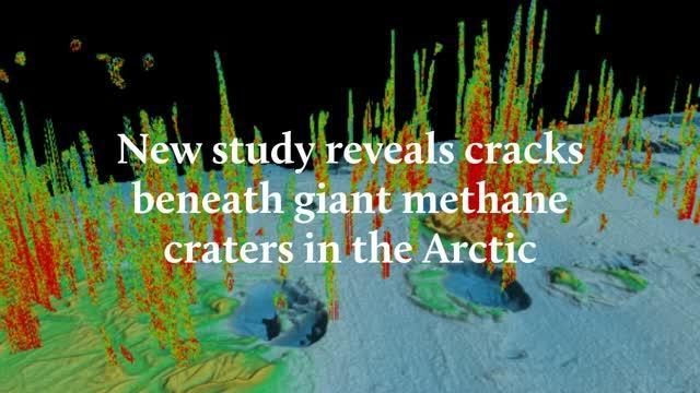 New Study Reveals Cracks beneath Giant Craters