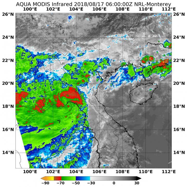 Satellite Data on Bebinca