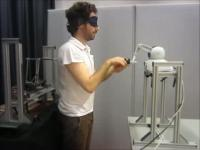 Participant Using Robot (1 of 2)