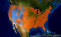 Federally protected & private lands across the US