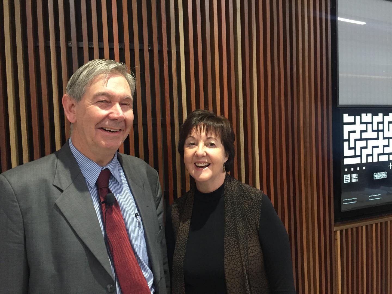 Professor Anthony Maeder and Professor Sue Gordon