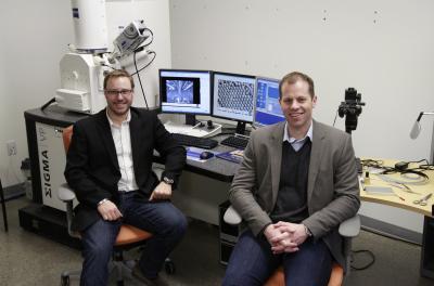 Simon Trudel and Curtis Berlinguette, University of Calgary