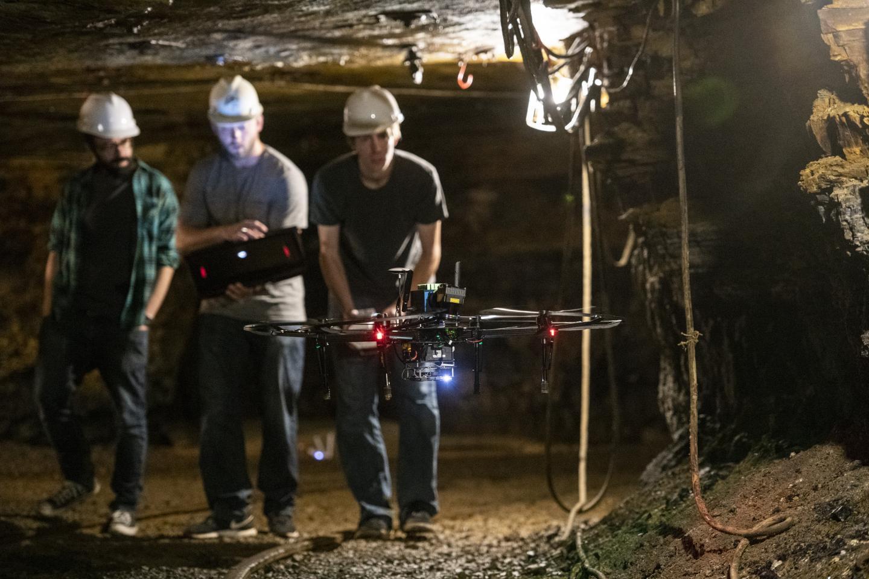 Sending Robots Underground