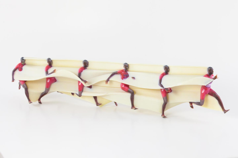 3D Printed Motion Sculpture -- Running