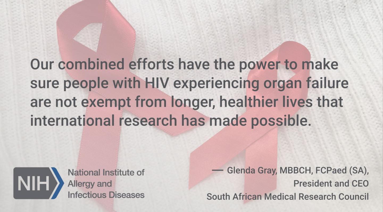 Dr. Glenda Gray Remarks
