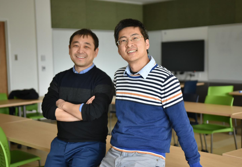 BESS-STAIR developers Kaiyu Guan and Chongya Jiang