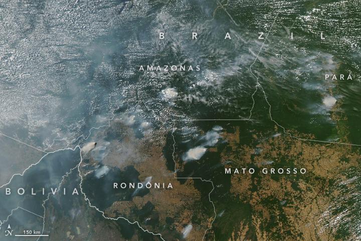 Conditions Ripe for Active Amazon Fire, Atlantic Hurricane Seasons