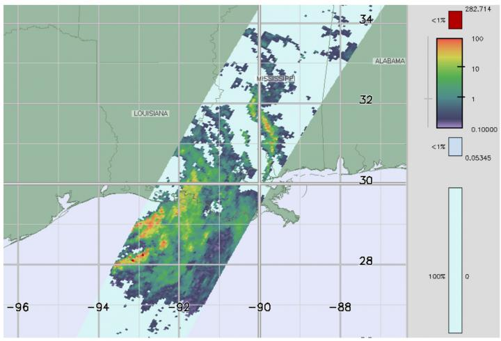 GPM data image of Barry