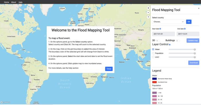 UN University debuts World Flood Mapping Tool