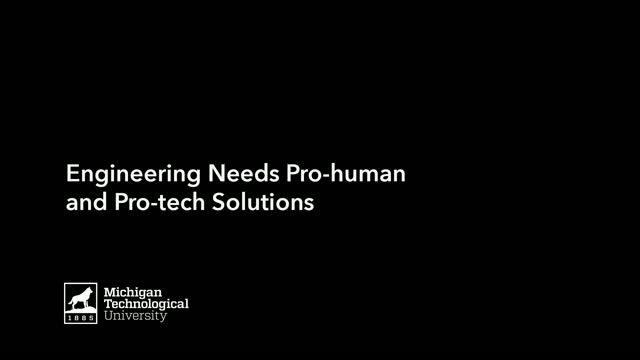 Joshua Pearce: Engineering Needs Pro-Human Tech