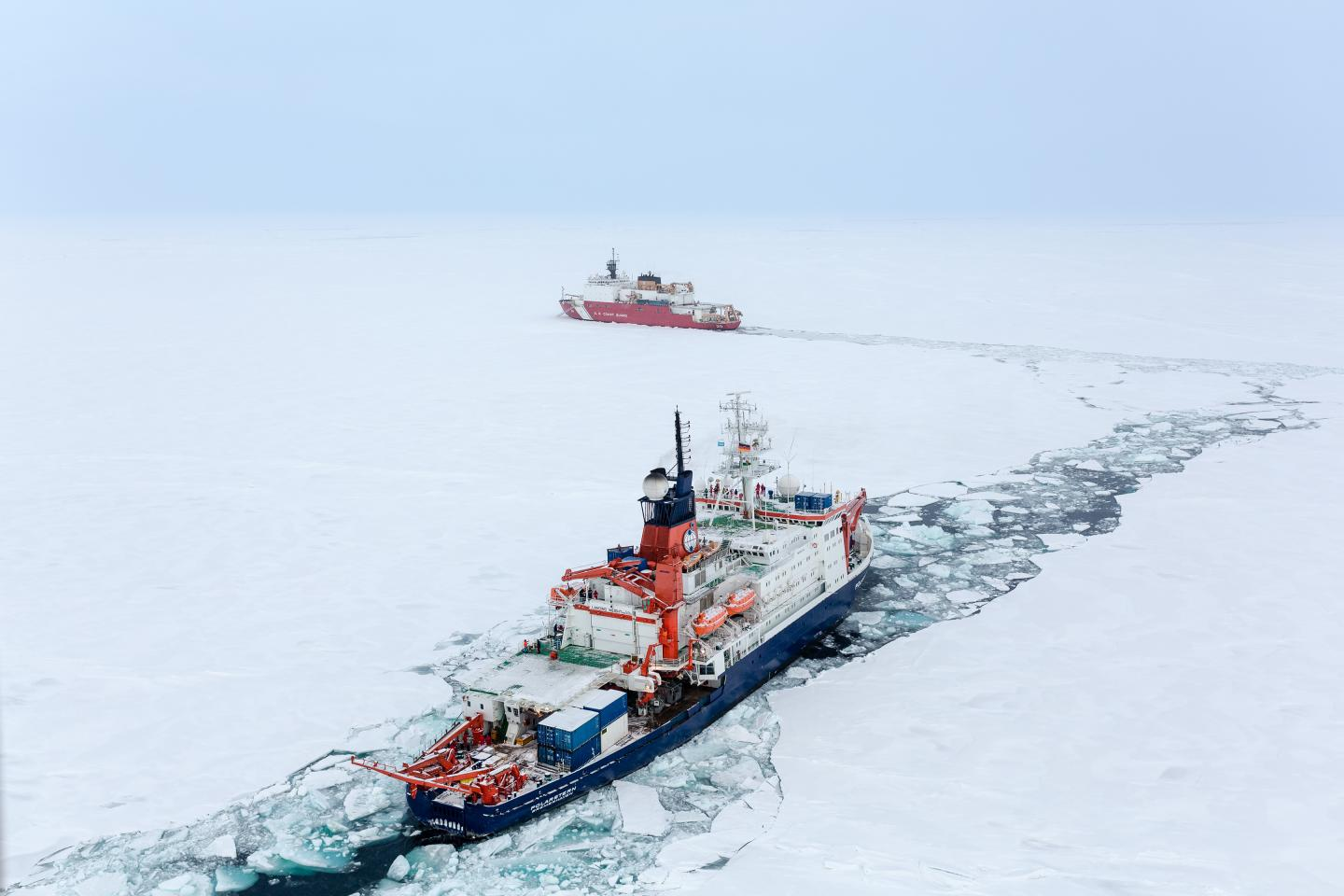 Materials from Arctic Shelves are Changing the Water's Composition