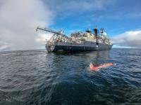 Research Vessel <em>Falkor</em> and AUV AE2000f