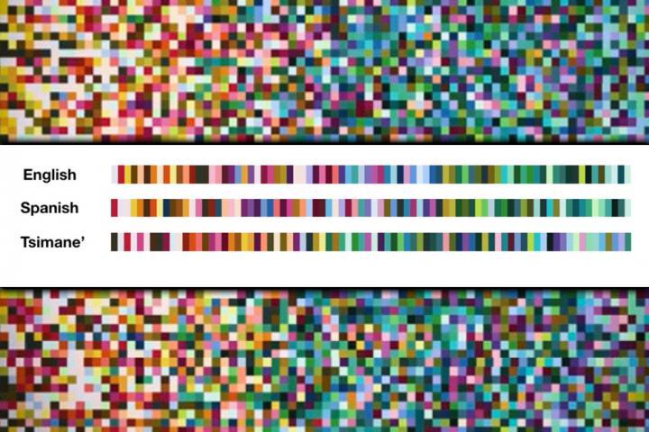 Language Colors