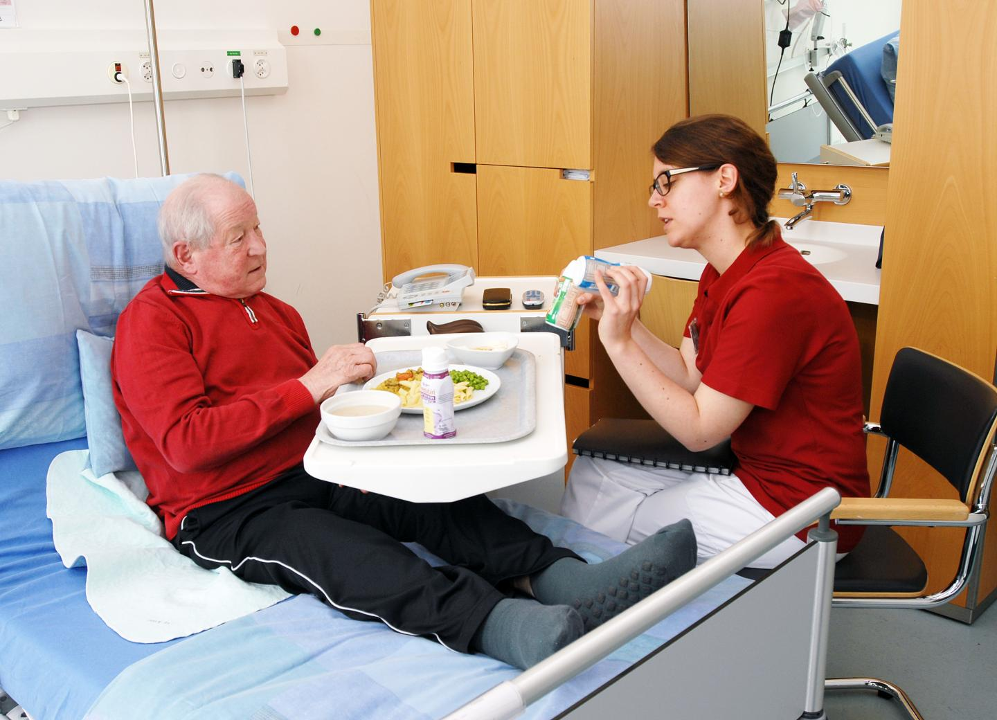 Individualized Nutritional Support in Medical Inpatients