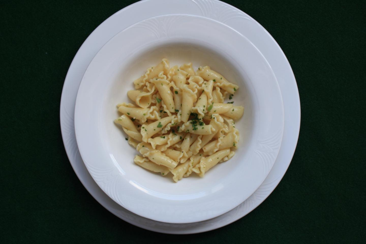 Pasta Dish Used in the Study