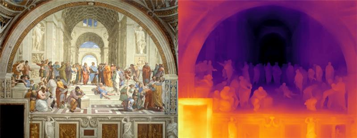 Teaching AI to see depth in photographs and paintings
