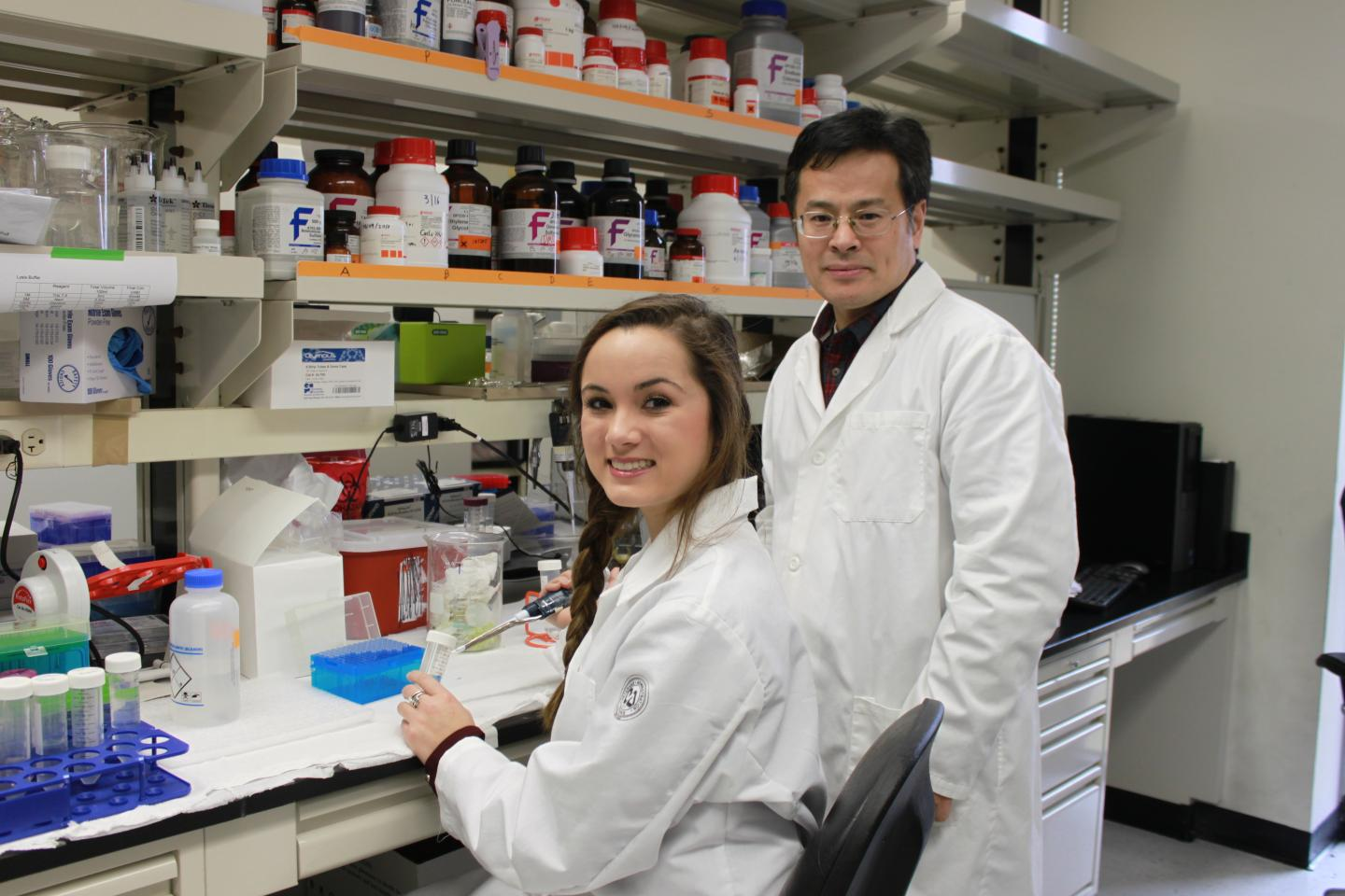 Dr. Guo and Study Co-Investigator