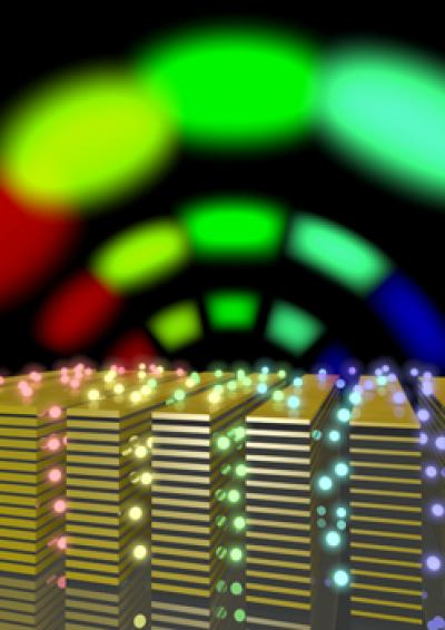 Artificial Material for Ultrafast Optical Communication