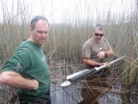 Coring in Duck Lagoon (1 of 2)