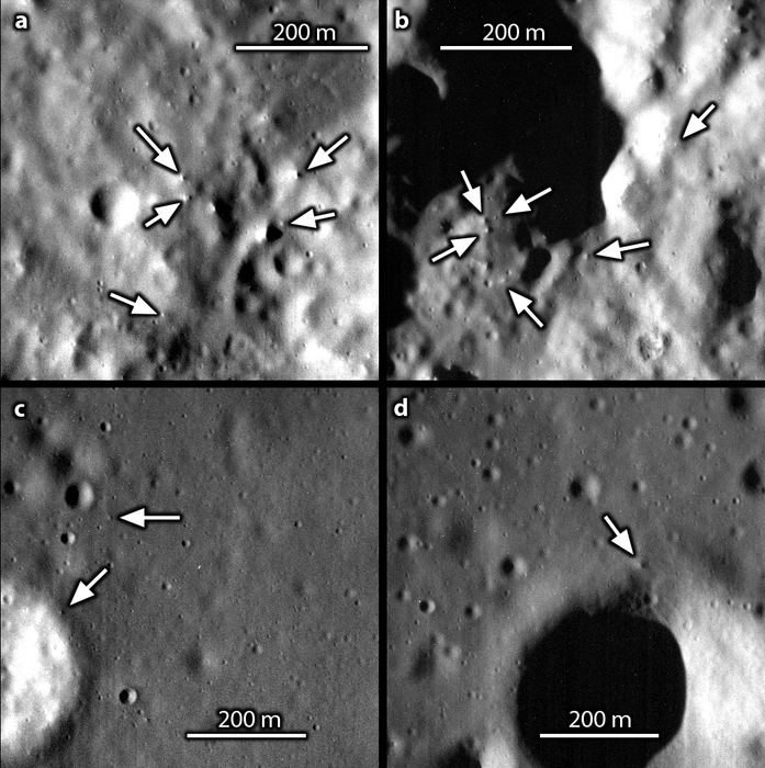 Boulders on Mercury