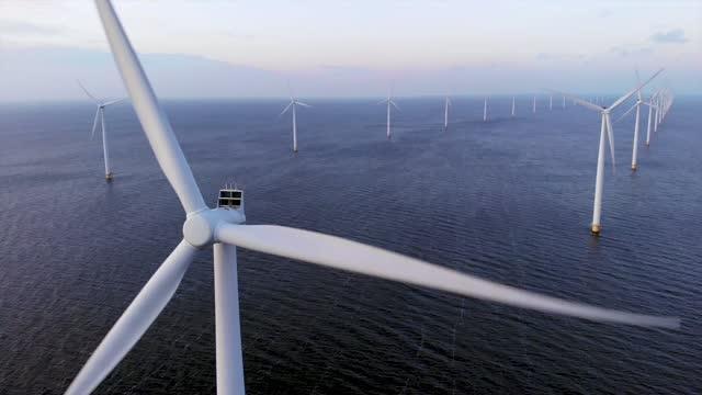 Windfarms and Marshaling Ports