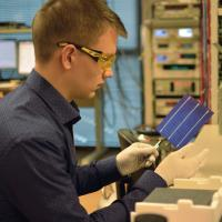 Black Silicon Solar Cells Lab