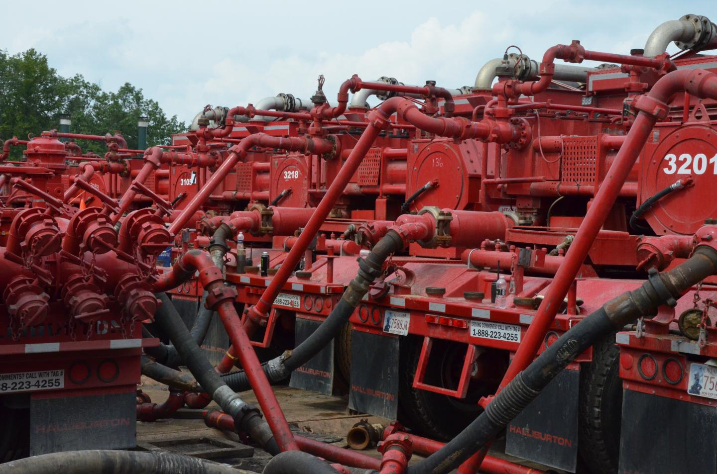 Transported Water for Unconventional Oil Production