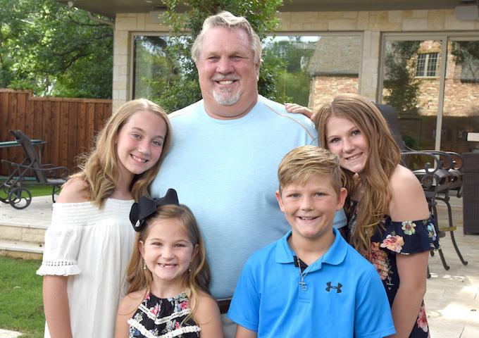 Rick Spurr and Grandkids